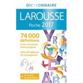 DICTIONNAIRE LAROUSSE DE POCHE 2017
