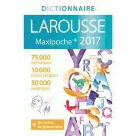DICTIONNAIRE MAXIPOCHE PLUS 2017