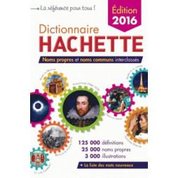 DICTIONNAIRE HACHETTE 2016