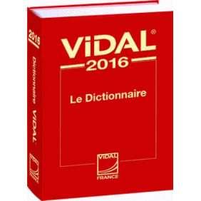 DICTIONNAIRE VIDAL 2016