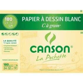 POCHETTE CANSON 180GR 24*32 AFRIQUE