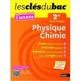 CLES DU BAC TTE L'ANNEE PHYS-CHIM 2DE
