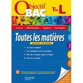 OBDJECTIF BAC 2013 TOUTES LES MATIERES TLE L
