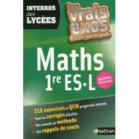 INTERROS DES LYCEES MATHS 1RE/ ES/L