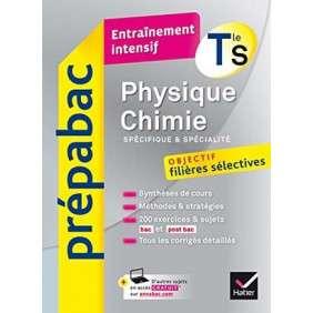 PHYSIQUE-CHIMIE TLE S (SPECIFIQUE & SPECIALITE) - PREPABAC ENTRAINEMENT INTENSIF