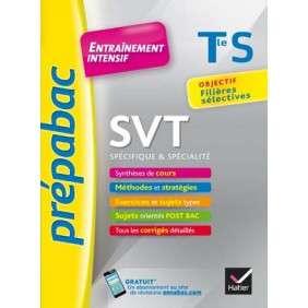 SVT TLE S (SPECIFIQUE & SPECIALITE) - PREPABAC ENTRAINEMENT INTENSIF