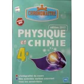 CHRONOMAITRE PHYSIQUES CHIMIE 4EME