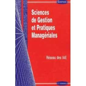 Sciences de gestion et pratiques manageriales