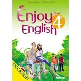 NEW ENJOY ENGLISH 4EME MANUEL ED 2014