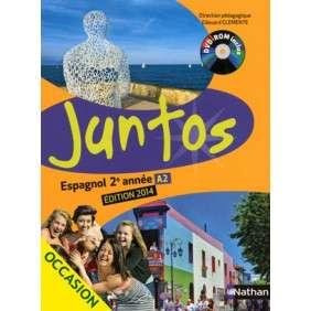 JUNTOS 2E ANNEE + DVD-ROM ELEVE 2014