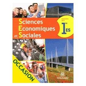 SCIENCES ECONOMIQUES ET SOCIALES 1E ES
