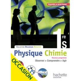 PHYSIQUE-CHIMIE 1RE S - LIVRE ELEVE FORMAT COMPACT