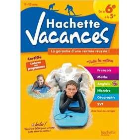 HACHETTE VACANCES - DE LA 6E A LA 5E