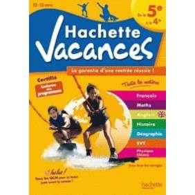 HACHETTE VACANCES - DE LA 5E A LA 4E