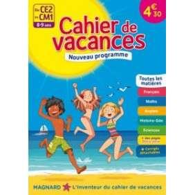 CAHIER DE VACANCES DU CE2 AU CM1, 9-10 ANS
