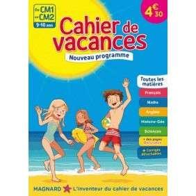 CAHIER DE VACANCES DU CM1 AU CM2, 9-10 ANS