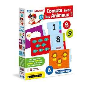 COMPTE AVEC LES ANIMAUX 3 A 5 ANS