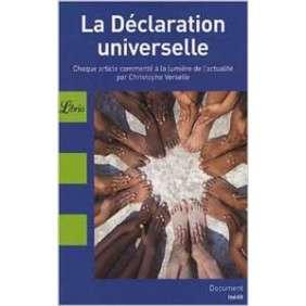 LA DECLARATION UNIVERSELLE DES DROITS DE L HOMME