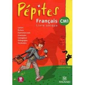 FRANÇAIS CM1 PEPITES - PROGRAMME 2008