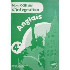MON CAHIER D'INTEGRATION 4E ANGLAIS