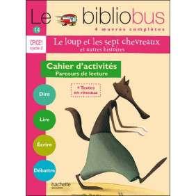 BIBLIOBUS N 14 LE LOUP ET LES SEPT CHEVREAUX