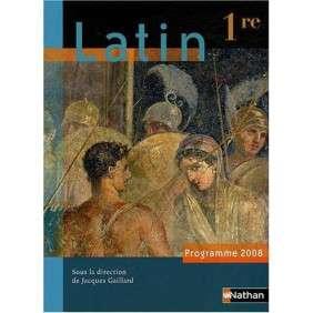 LATIN 1E - PROGRAMME 2008