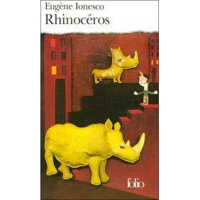 RHINOCEROS - PIECE EN 3 ACTES ET 4 TABLEAUX
