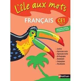 ILES AUX MOTS-MANUEL CE1 CYCLE 2 FRANCAIS NVLE ED