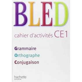 BLED CP/CE1 - CAHIER D'ACTIVITES