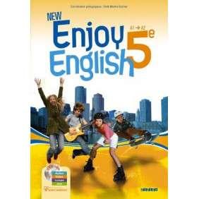 NEW ENJOY ENGLISH 5E - LIVRE DE L'ELEVE