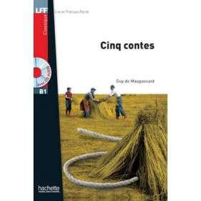 CINQ CONTES + CD AUDIO MP3