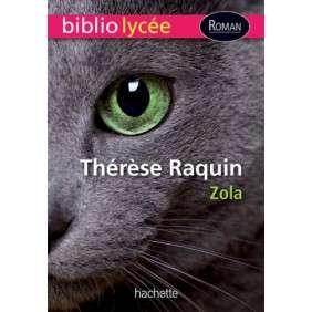 THERESE RAQUIN EMILE ZOLA BIBLIOLYCEE