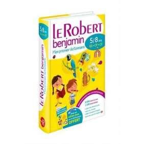 DICTIONNAIRE LE ROBERT BENJAMIN