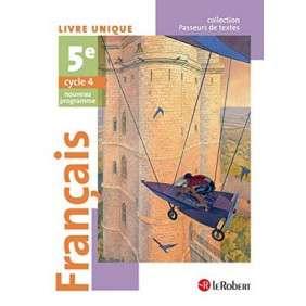 FRANCAIS 5EME ELEVE - PASSEURS DE TEXTES