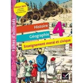FICHIER D'ACTIVITES HISTOIRE-GEOGRAPHIE