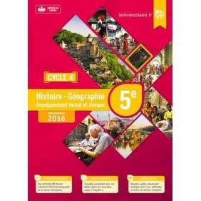 HISTOIRE-GEOGRAPHIE-EMC 5E, EDITION 2016