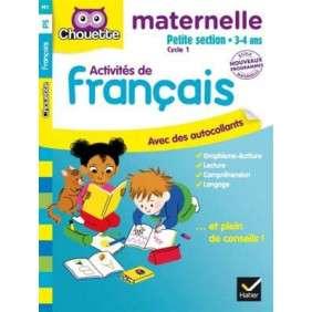 FRANCAIS PETITE SECTION 3-4 ANS