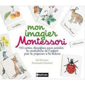 MON IMAGIER MONTESSORI COFFRET+150 CARTES