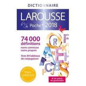 DICTIONNAIRE LAROUSSE POCHE PLUS 2018