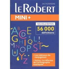 LE ROBERT MINI PLUS 2018 : LE PLUS COMPLET DES MINI DICTIONNAIRES