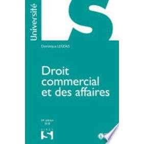 DROIT COMMERCIAL ET AFFAIRES 23E ED