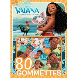 VAIANA - 80 gommettes