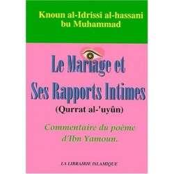 LE MARIAGE ET SES RAPPORTS INTIMES