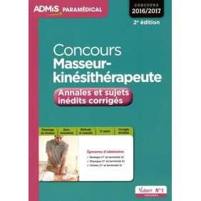 CONCOURS MASSEUR-KINESITHERAPEUTE