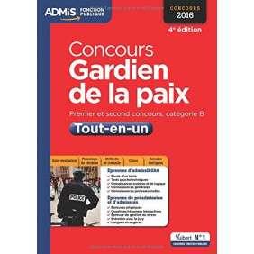 CONCOURS GARDIEN DE LA PAIX 4E EDT 2016
