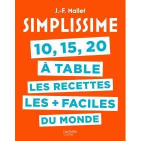 SIMPLISSIME 10, 15, 20 A TABLE