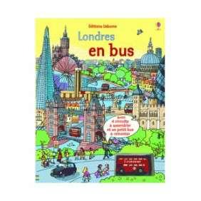 LONDRES EN BUS - LIVRES AVEC JOUET A REMONTER