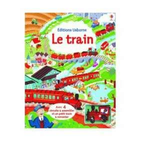 LE TRAIN - AVEC JOUET A REMONTER