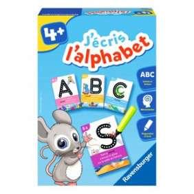J'ECRIS L'ALPHABET - AGE - 4 ANS +