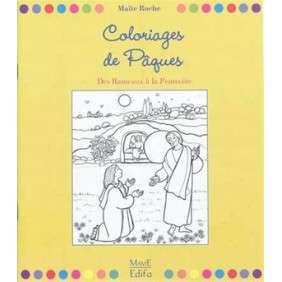 COLORIAGES DE PAQUES